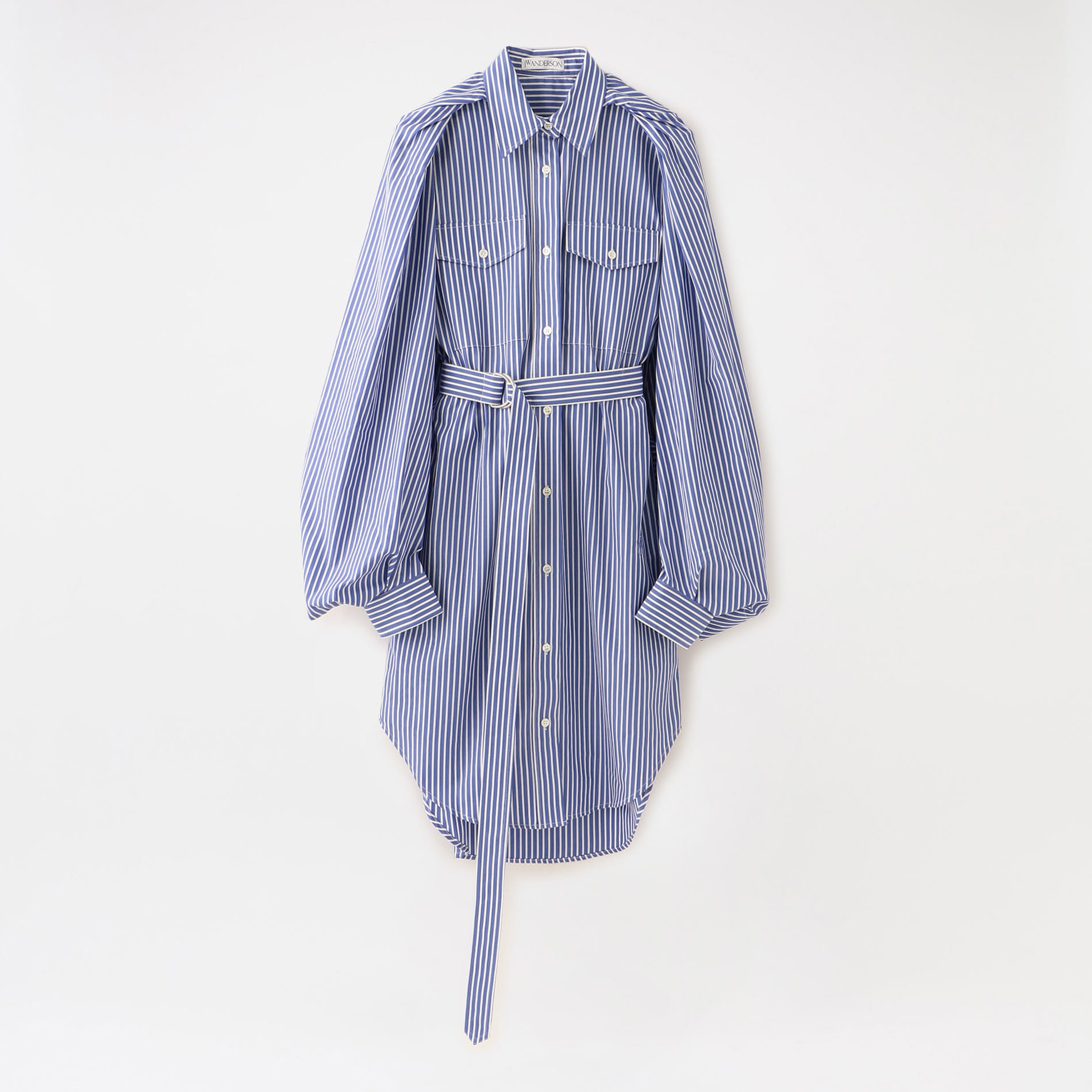 【JW ANDERSON】WOMEN TRENCH SHIRT DRESS DR0089-PG0293