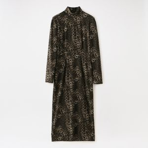 【JOHN LAWRENCE SULLIVAN】WOMEN HI-NECK DRESS 3D011-0520-30 W-25