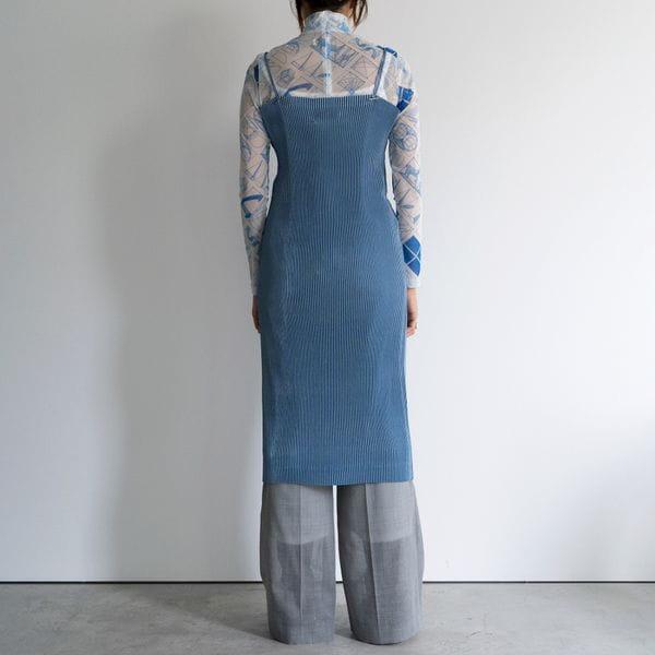 【YOHEI OHNO】WOMEN PLEATS DRESS OH-20A-DR1