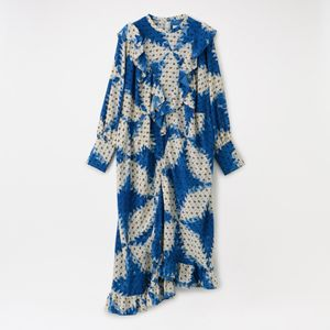 【NOMA t.d.】WOMEN DR01/RUFFLED DRESS