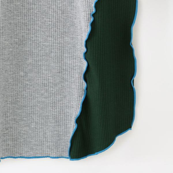 【NOMA t.d.】WOMEN DR/03 RIB LONG DRESS