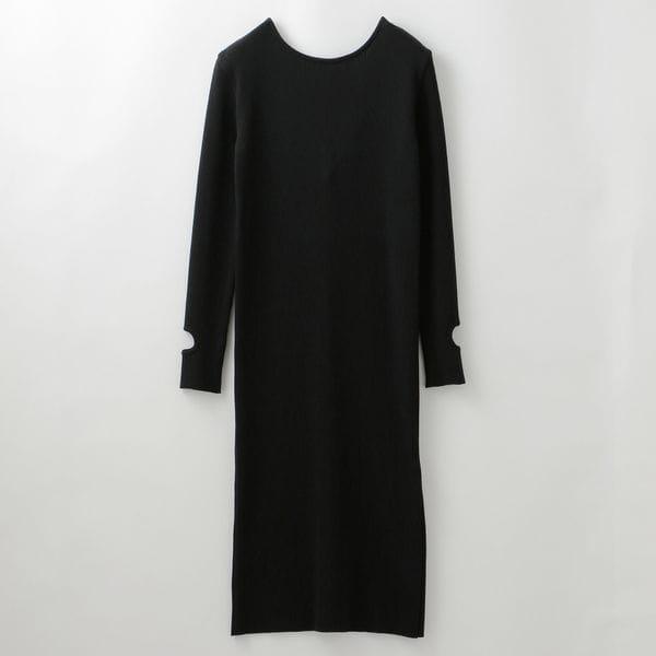 〈タイムセール〉【muller of yoshiokubo】WOMEN バックボタンドレス MLF19815