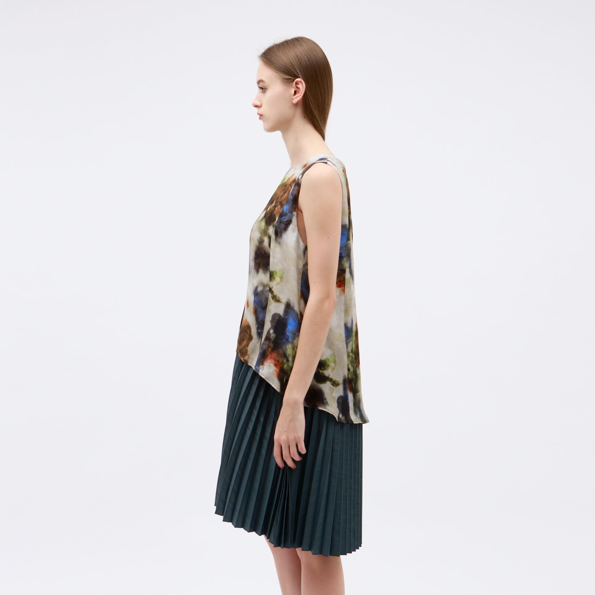【muller of yoshiokubo】WOMEN 別注 レイヤード プリーツ ドレス