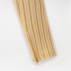 【muller of yoshiokubo】WOMEN Random rib 2way knit dress MLS20802