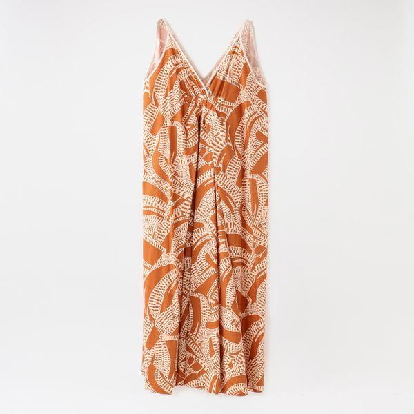 【muller of yoshiokubo】WOMEN Engrave cami dress MLS21605