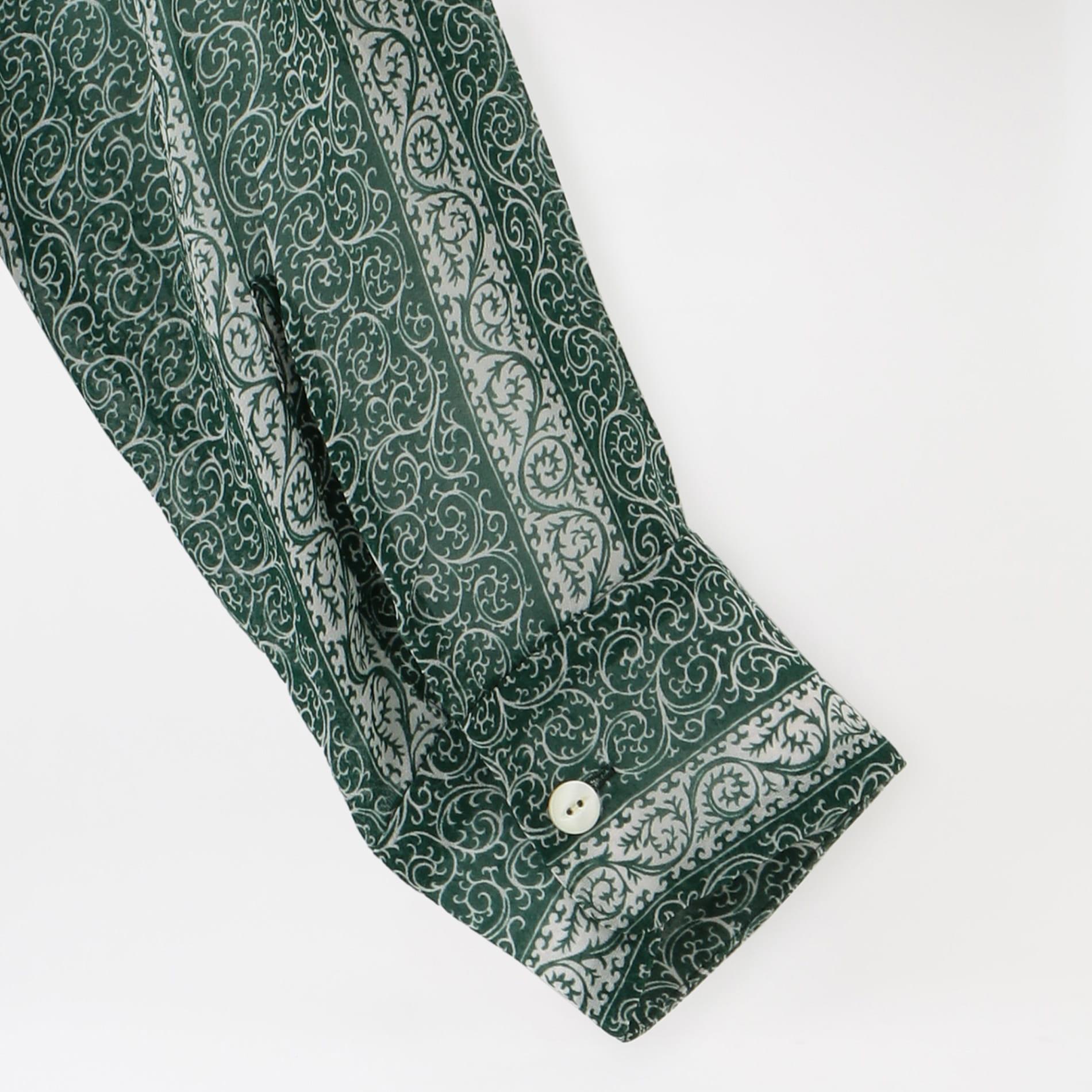【Needles】WOMEN シャツ C.O.B. Classic Shirt - Cupra Chiffon / Pt. IN076