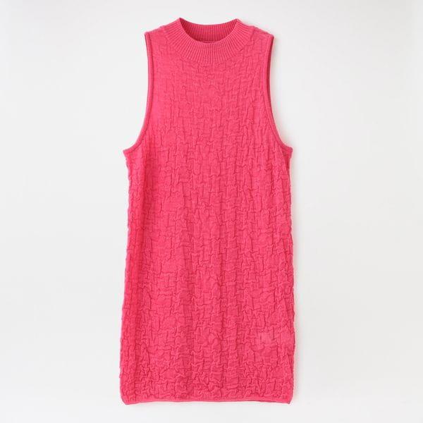 【muller of yoshiokubo】WOMEN Buble knit MLS21802