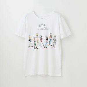 【U.P.(Unfortunate Portrait)】WOMEN Tシャツ ROLL MODELS