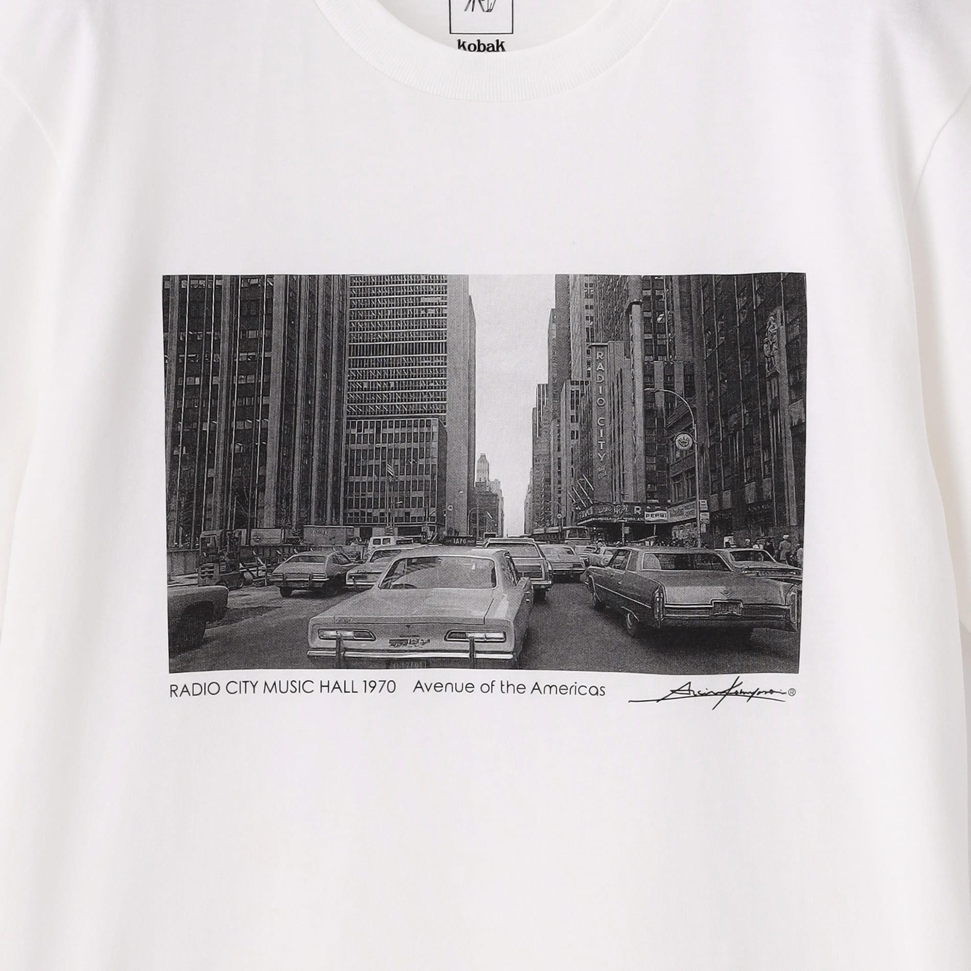 【KOBAK×LOVELESS】EXCLUSIVE フォトTシャツ RADIO CITY MUSIC HALL