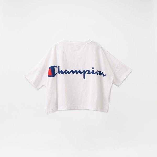 【Champion】WOMEN WIDE T-SHIRT CW-R303