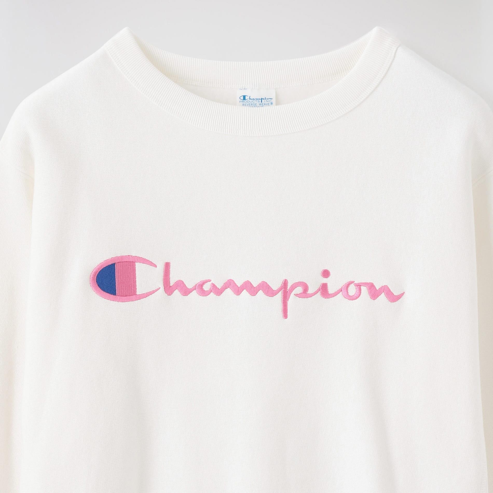 【Champion】WOMEN REVERSE WEAVE CREWNECK SWEATSHIRT CW-S008