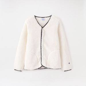 【Champion】WOMEN SHERPA FLEECE SNAP JACKET CW-N605
