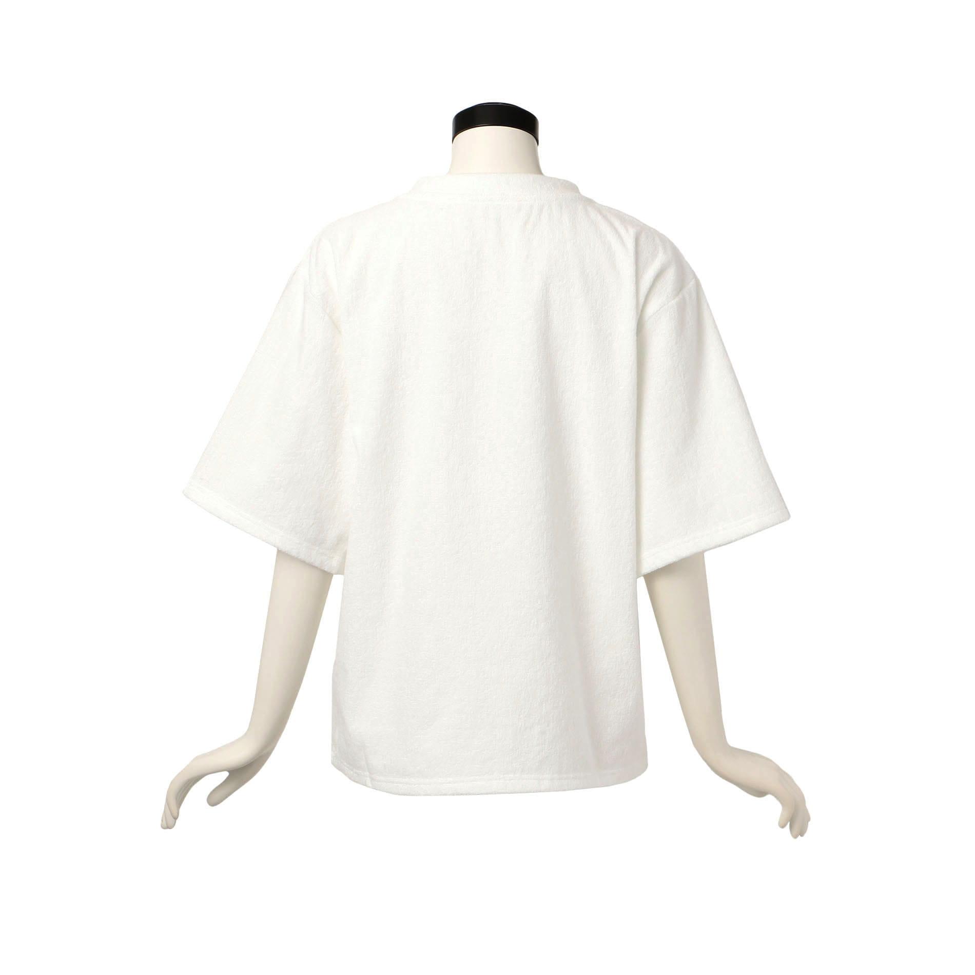 【LeRELN】WOMEN パイル Tシャツ