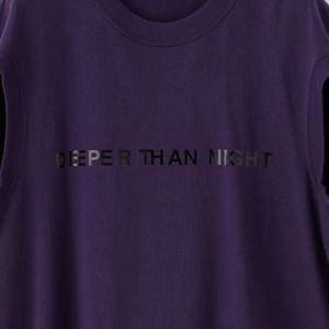 【JOHN LAWRENCE SULLIVAN】WOMEN DEEPER THAN NIGHT T-Shirt 5A009-0320-28