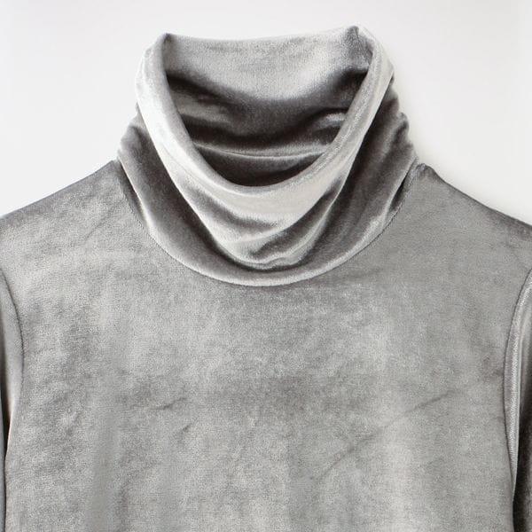 【JOHN LAWRENCE SULLIVAN】WOMEN HI-NECK TOP 5D014-0220-18 W-40