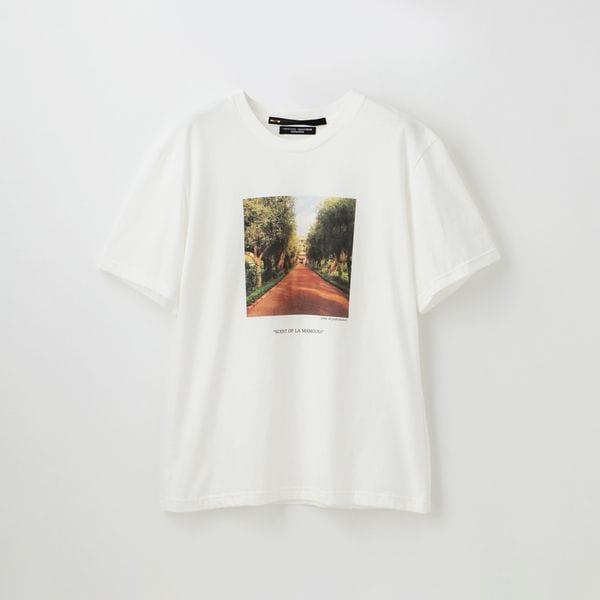 【muller of yoshiokubo】WOMEN 別注プリントフォトTシャツ MSL19115SP