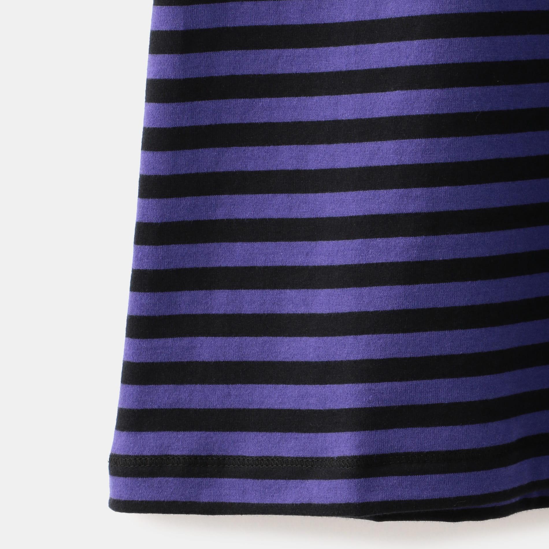 【Needles】WOMEN S/S Papillon Emb.Tee-Cottpn Jersey/Stripe GL252