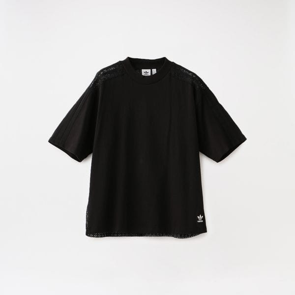 【adidas】WOMEN LACE BACK TEE FM1737