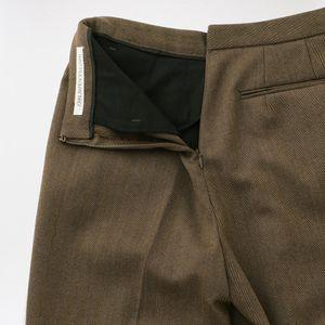 【JOHN LAWRENCE SULLIVAN】WOMEN FRONT SIDE TUCKED PANTS 2D009-0120-01 W-05