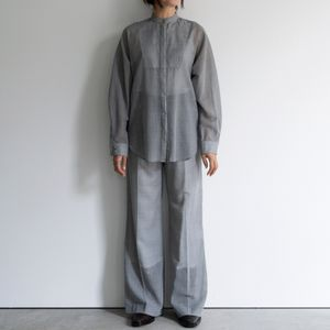 【YOHEI OHNO】WOMEN FLARE TROUSERS (WOOL VOILE) OH-20A-PT3