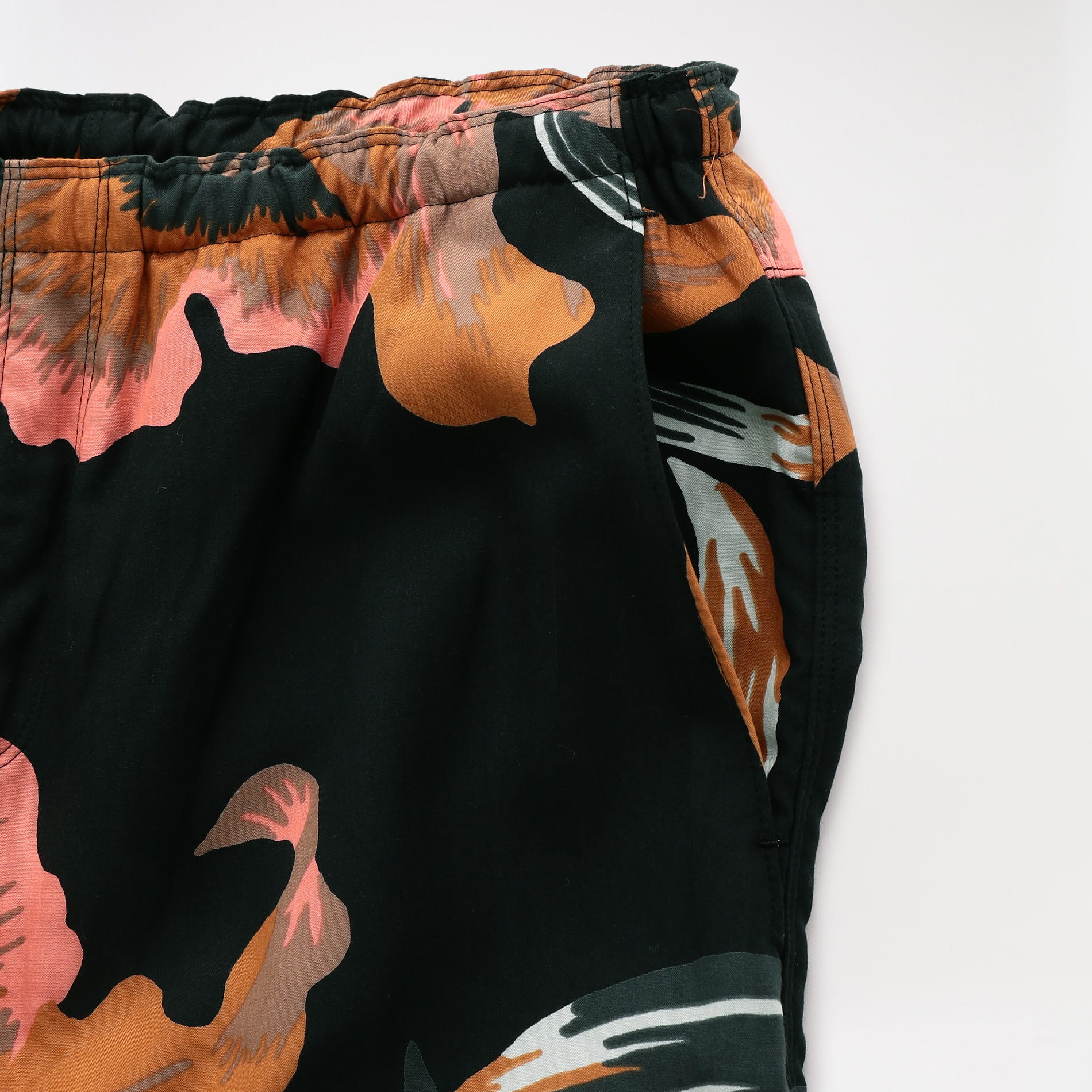 【NOMA t.d.】WOMEN Beach Short Floral Black Floral of Memories SPT04
