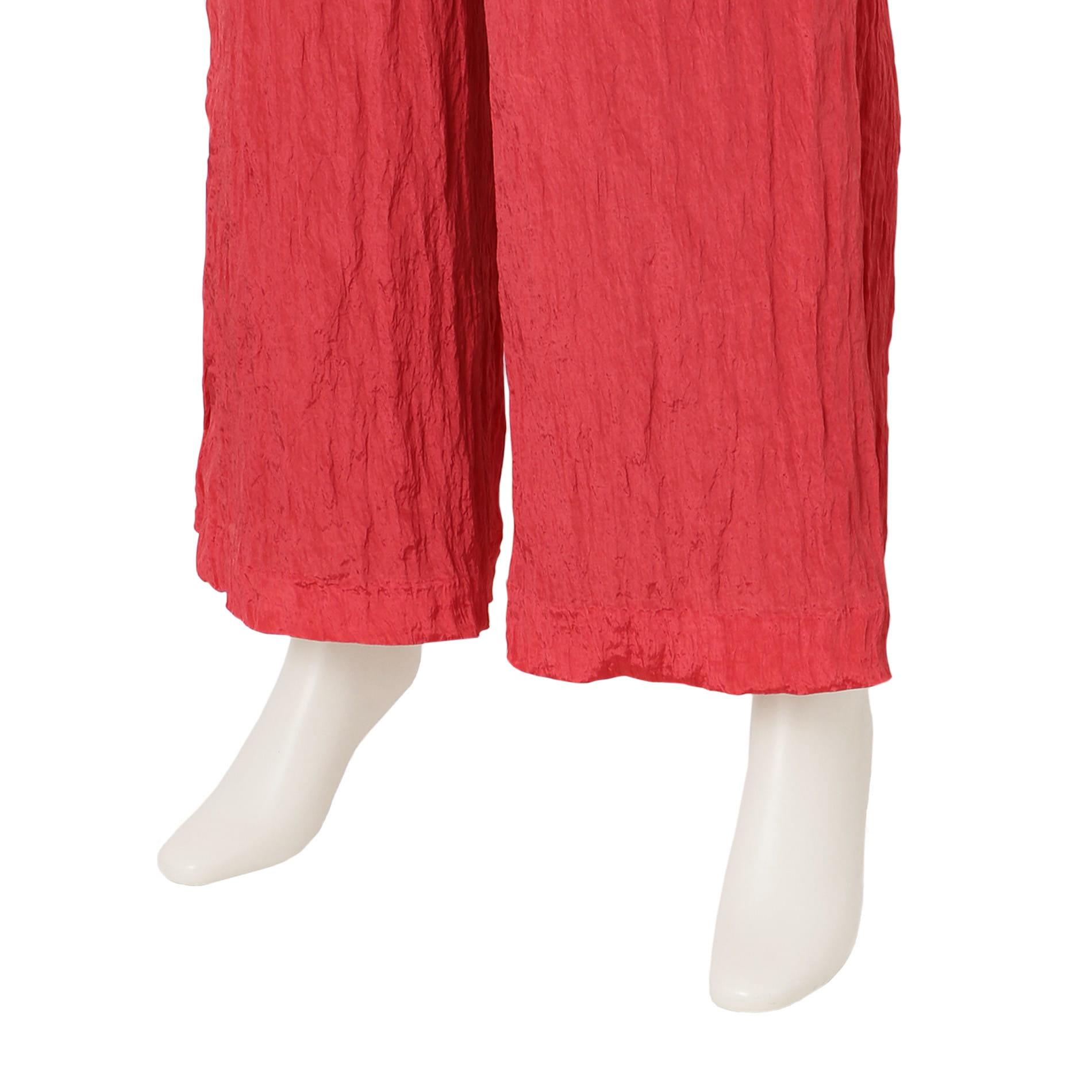 【muller of yoshiokubo】WOMEN ウェイブワイドパンツ MLS19415