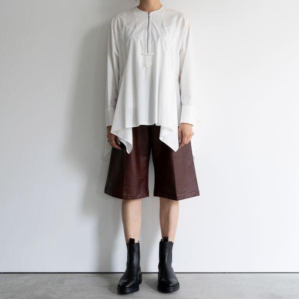【muller of yoshiokubo】WOMEN LIZARD SHORT PANTS MLF20414A
