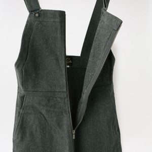 【Needles】WOMEN FLARED OVERALL NEP TWILL HM149