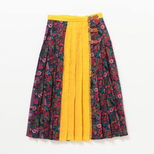 〈タイムセール〉【O'NEIL OF DUBLIN】WOMEN キルトスカート H12473