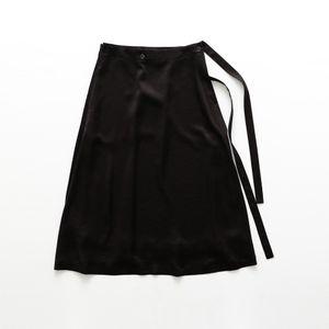 〈タイムセール〉【08sircus】WOMEN ドレープラップスカート S19SL-SK03