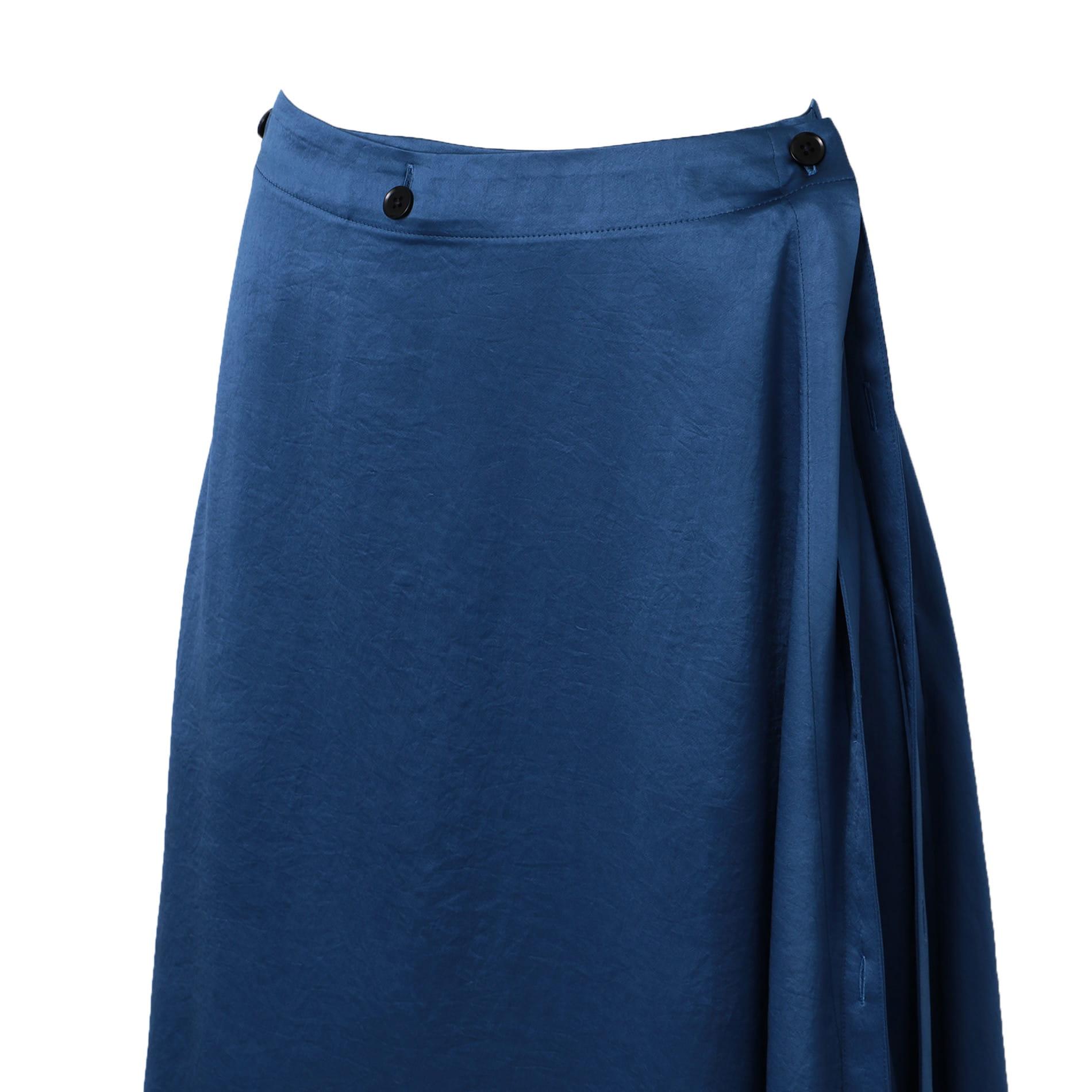 【08sircus】WOMEN ドレープラップスカート S19SL-SK03