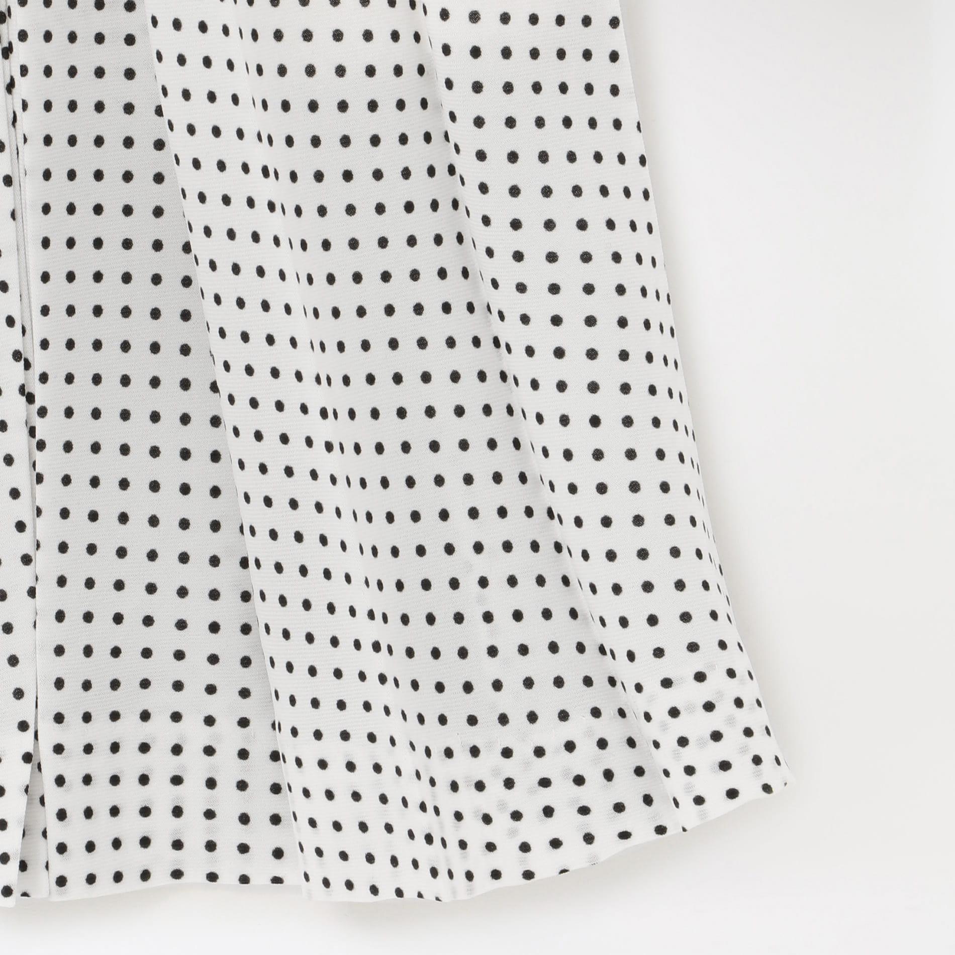 【YOHEI OHNO】WOMEN Dot Pleats Dress(SKIRT) OH-20S-DR4