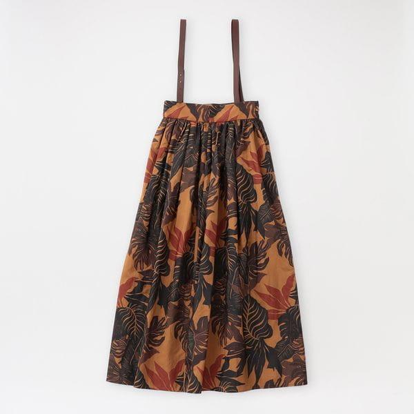 【返品送料無料】【muller of yoshiokubo】WOMEN スカート Botanic gather skirt MLS21405B