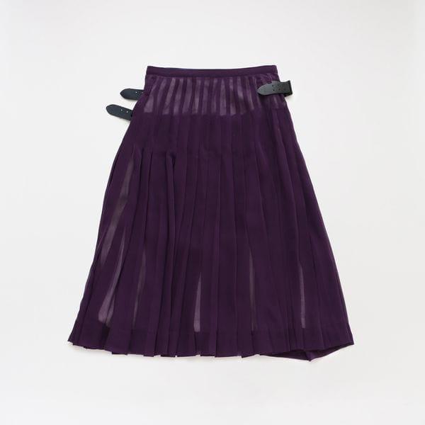 【Needles】WOMEN スカート Kilt Skirt - Poly Chiffon IN140