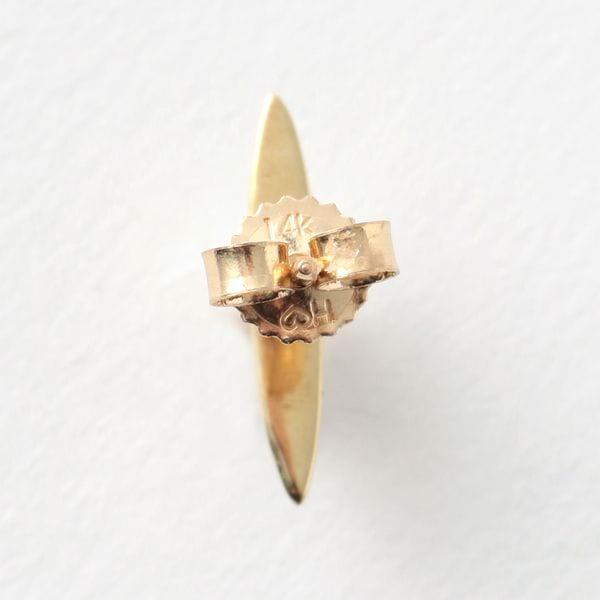 【QUARRY】WOMEN ピアス white pearl / 14K gold (single) Naax Earring Q9E04