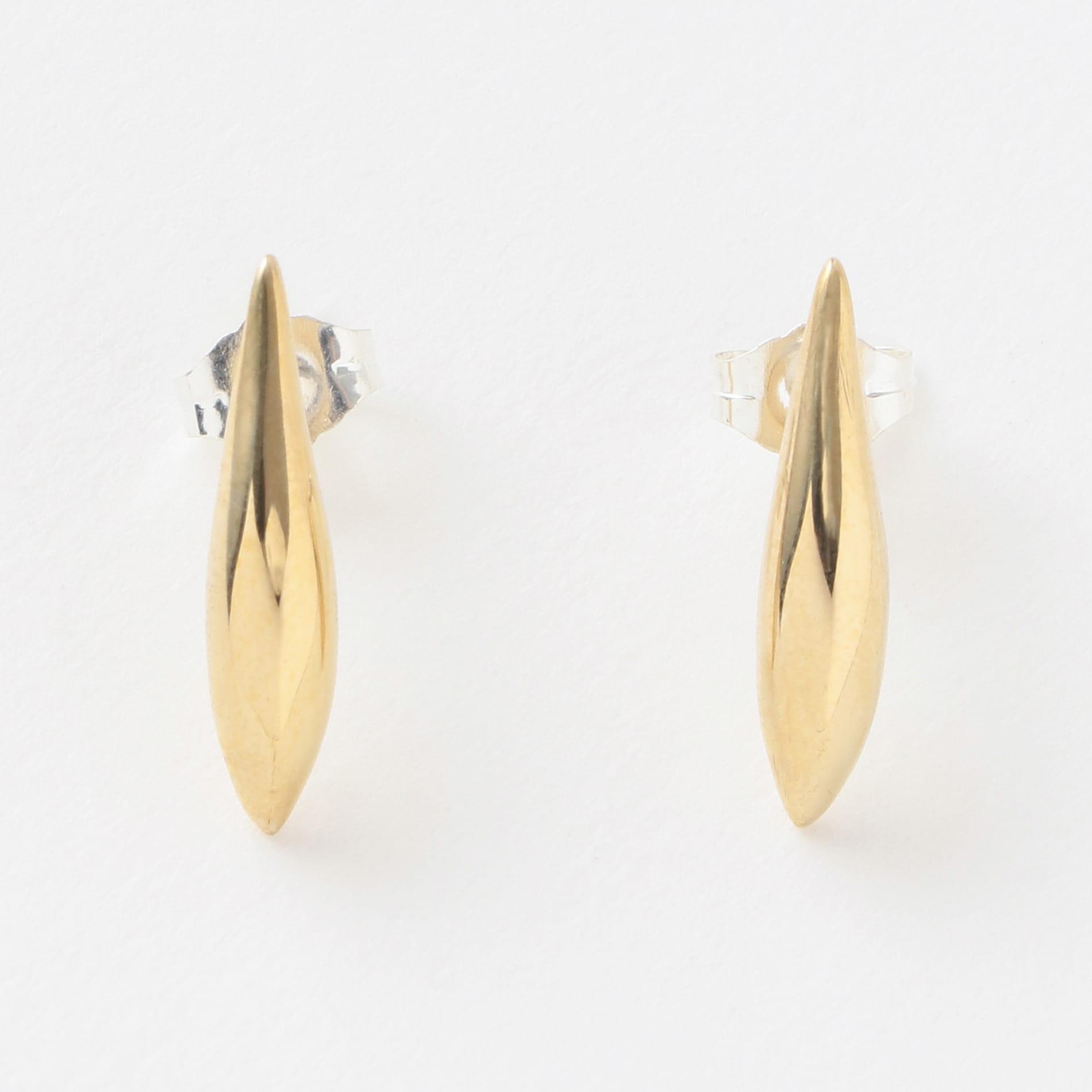【QUARRY】WOMEN ピアス BRASS Lor Single Lean EAR Q18E11