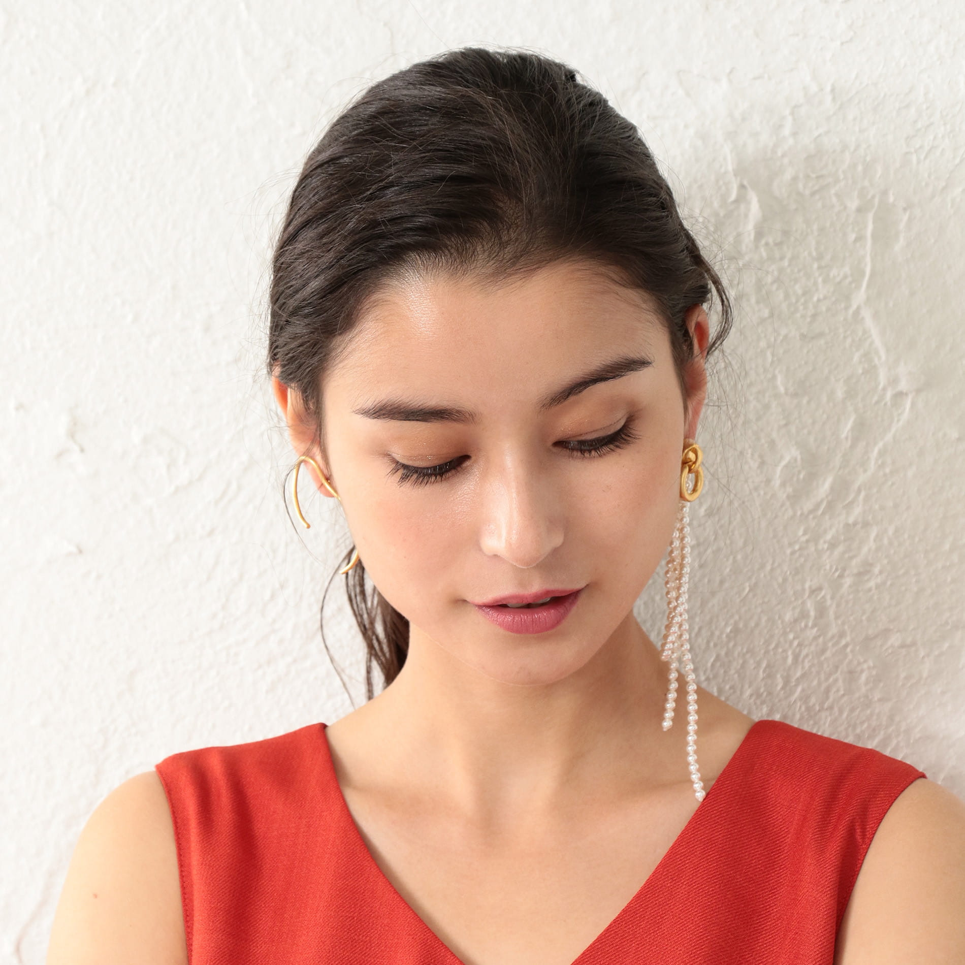【MONDAY EDITION】WOMEN 別注ピアス MEER080292GMF