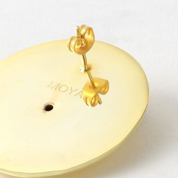 【MOYA】WOMEN ピアス CARLOTTAEARRINGS 14CT GOLD PLATEDBRASS MOYA035SP