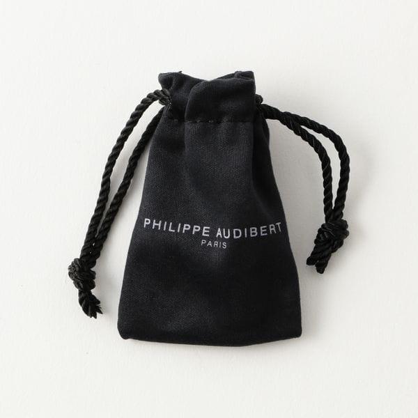 【PHILIPPE AUDEBERT】WOMEN リング-BLACK MOTHER OF PEARL STONES- BG3067 AR-NN