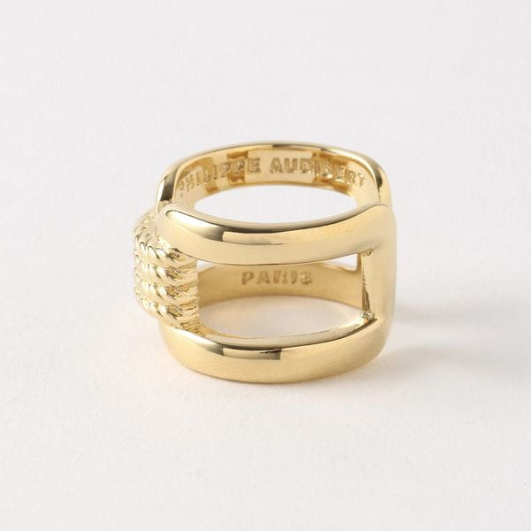 【PHILIPPE AUDIBERT】WOMEN リング Corey ring brass light gold BG4600