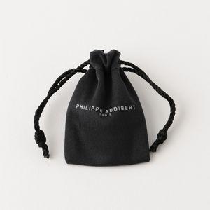 【PHILIPPE AUDIBERT】WOMEN イヤリング JESSY LARGE EARRING BRASS SILVER BGO4787:AR