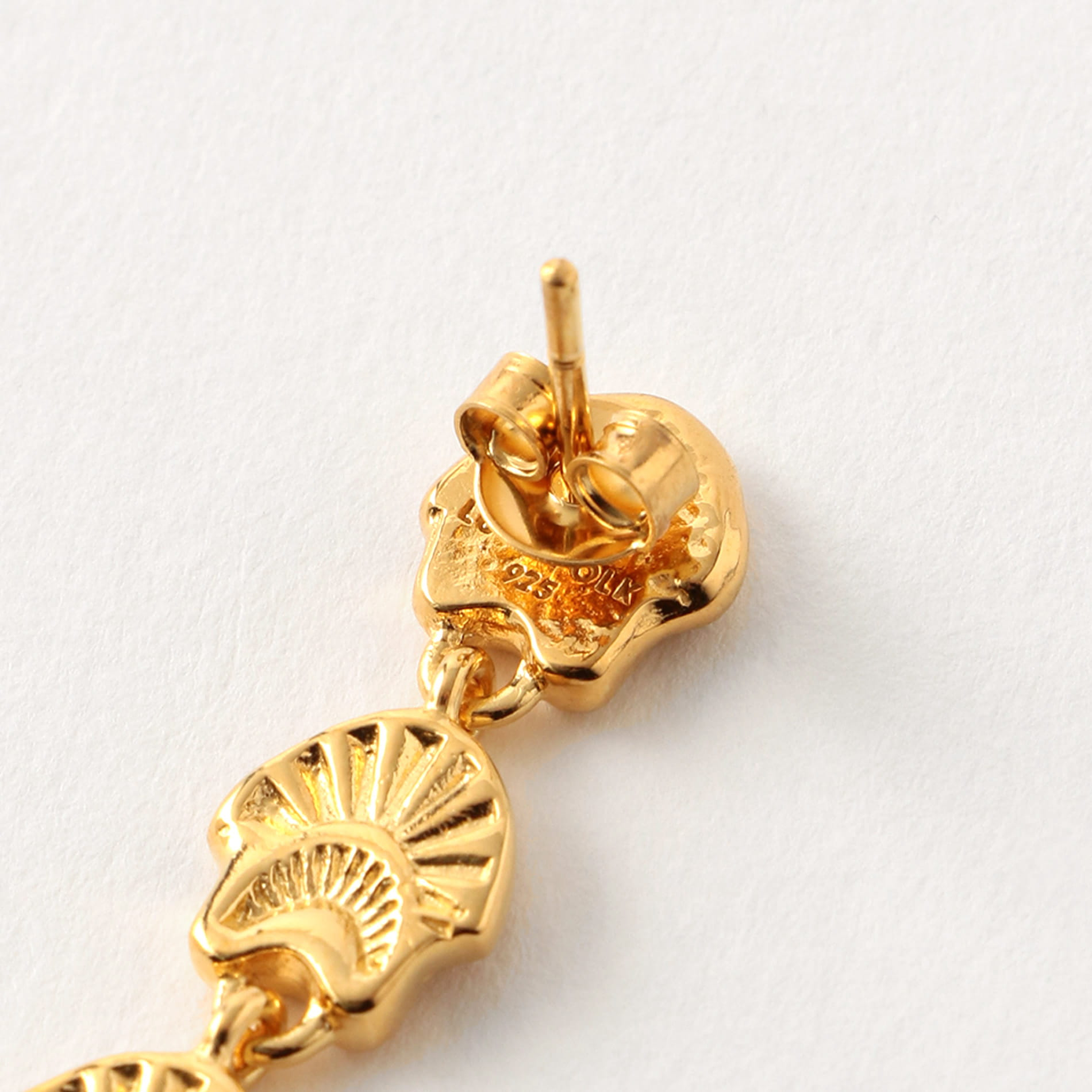 【LUCY FOLK】WOMEN ピアス Amulet Of The Sun Sterling Silver,
