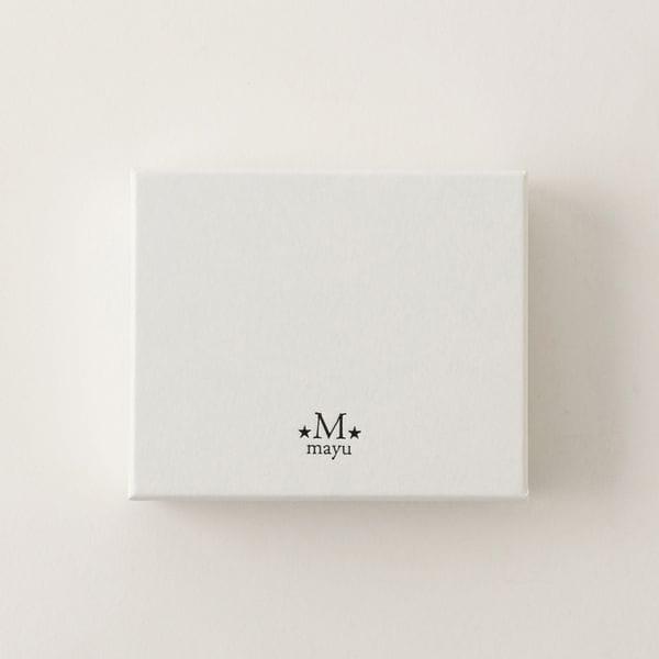 【MAYU】WOMEN ピアス MA0270-CZ-WH