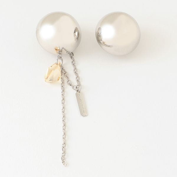 【JUSTINE CLENQUET】WOMEN イヤリング MICHELLE CLIP-ON EARRINGS 22JC0MICHELLE