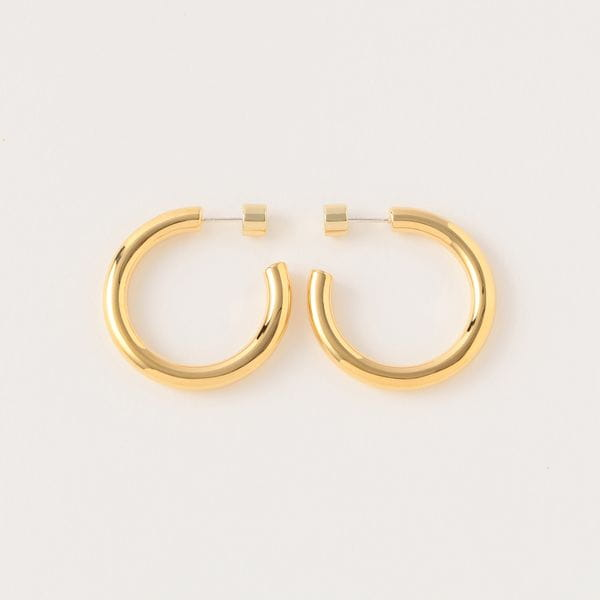【otona MUSE掲載商品】【ROMANIN】ピアス LUISA hoops (34mm) RJE002SBP04