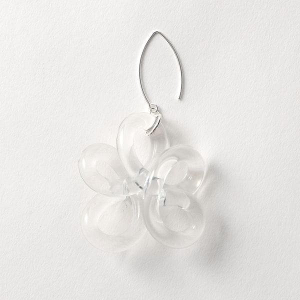 【Corey Moranis】WOMEN flower earring Sterling silver Findings