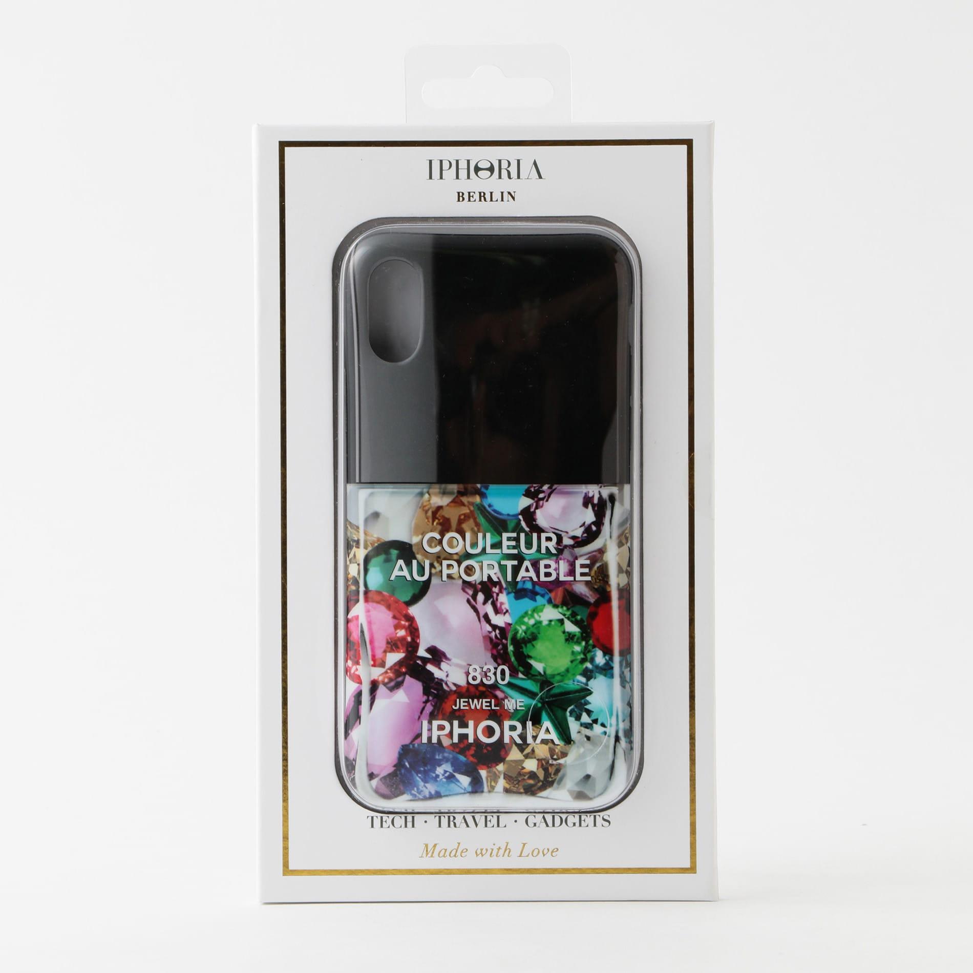 【IPHORIA】iPhoneケース(iPhoneX/XS対応)-Nailpolish Juwel Me-