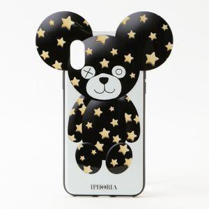 〈タイムセール〉【IPHORIA】iPhoneケース(iPhoneX/XS対応) -Sparkle Teddy- REVIVAL19-007