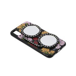 〈タイムセール〉【IPHORIA】iPhoneケース(iPhoneX/XS対応) -Floral Love With Glasses-
