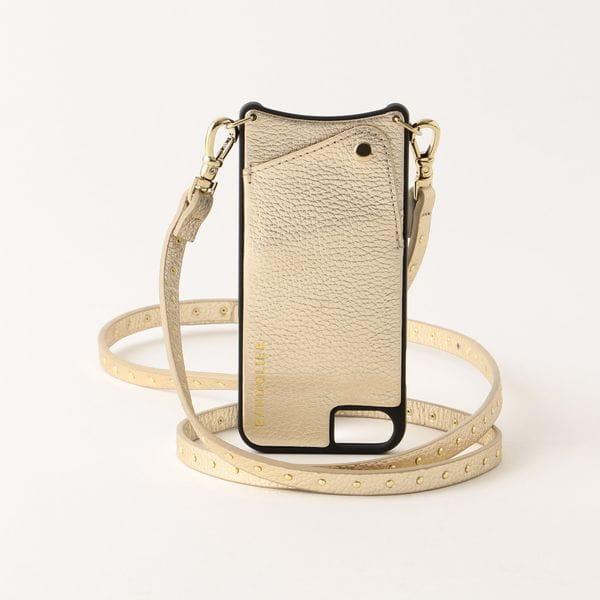 【BANDOLIER】NICOLE RICH GOLD iPhone6/7/8 bdl05-10nic-gld-8
